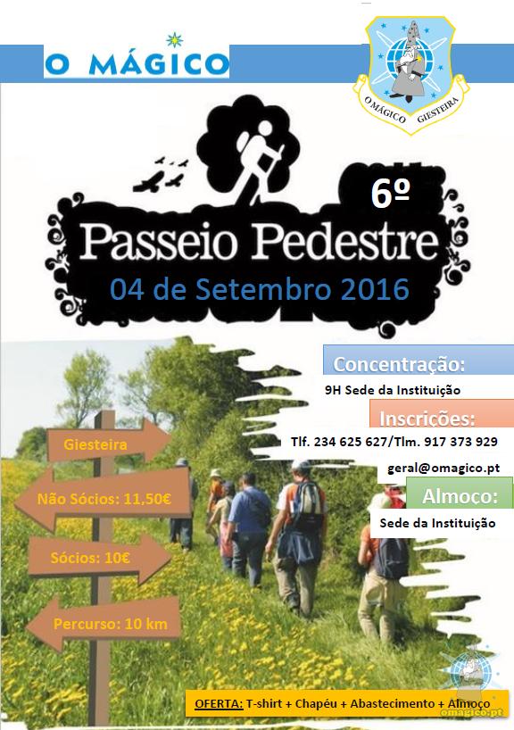 6º Passeio Pedestre