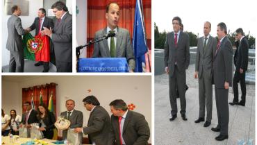 Um ano após a visita do anterior Ministro Dr. Pedro Mota Soares