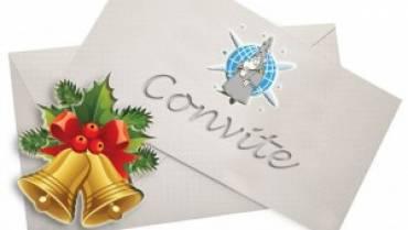 Ceia de Natal — Convite